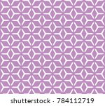geometric grid with intricate... | Shutterstock .eps vector #784112719