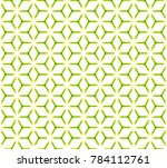 geometric grid with intricate... | Shutterstock .eps vector #784112761