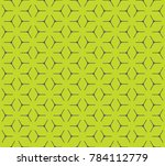 geometric grid with intricate... | Shutterstock .eps vector #784112779
