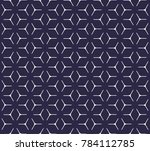 geometric grid with intricate... | Shutterstock .eps vector #784112785