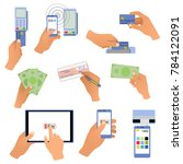 all for business payments ... | Shutterstock . vector #784122091