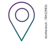 pin pointer location icon | Shutterstock .eps vector #784129831