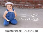 Adorable Smiling Toddler...