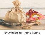 purim jewish holiday... | Shutterstock . vector #784146841
