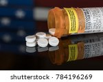 oxycodone is the generic name... | Shutterstock . vector #784196269