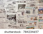 bologna  italy   december 25 ... | Shutterstock . vector #784234657