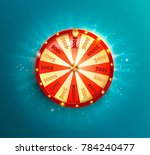 Symbol Of Spinning Fortune...