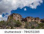 diablo canyon near santa fe new ... | Shutterstock . vector #784252285