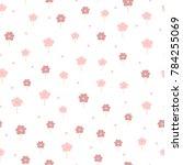 Cute Flowers And Polka Dot....