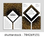 abstract vector layout... | Shutterstock .eps vector #784269151