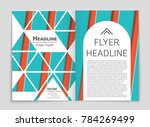 abstract vector layout... | Shutterstock .eps vector #784269499