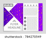 abstract vector layout... | Shutterstock .eps vector #784270549