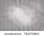 wave halftone engraving black... | Shutterstock .eps vector #784270891