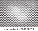 wave halftone engraving black... | Shutterstock .eps vector #784270891
