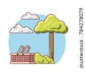 picnic design concept | Shutterstock .eps vector #784278079