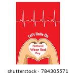 vector design for national wear ... | Shutterstock .eps vector #784305571
