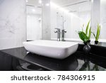 sink faucet decoration in... | Shutterstock . vector #784306915