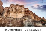 mehrangarh fort at jodhpur... | Shutterstock . vector #784310287