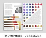 abstract vector layout... | Shutterstock .eps vector #784316284