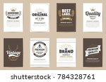 vintage retro vector logo for... | Shutterstock .eps vector #784328761