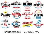 vintage retro vector logo for...   Shutterstock .eps vector #784328797