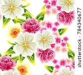 abstract elegance seamless... | Shutterstock . vector #784340677