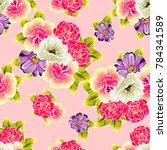 abstract elegance seamless... | Shutterstock .eps vector #784341589