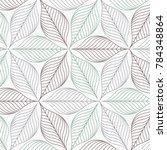 linear vector pattern ... | Shutterstock .eps vector #784348864