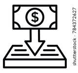 line vector icon design of...   Shutterstock .eps vector #784372627