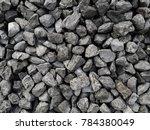road gravel. gravel texture....