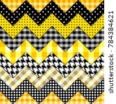 seamless background pattern.... | Shutterstock .eps vector #784384621