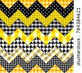 seamless background pattern.... | Shutterstock .eps vector #784384621