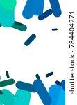 light blue  green vertical...   Shutterstock . vector #784404271