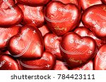 Small photo of GERMANY - December 31, 2017: Air Berlin chocolate hearts, characteristic give-away of the former second-largest German airline, which ceased operations on October 27, 2017.