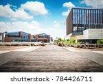 large modern office building | Shutterstock . vector #784426711