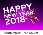 happy fitness new year | Shutterstock . vector #784432825