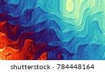 Abstract Digital Fractal...