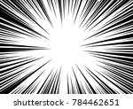 speed line fast motion... | Shutterstock .eps vector #784462651