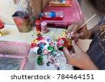 nonthaburi  thailand   december ...   Shutterstock . vector #784464151