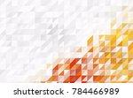 dark multicolor vector of small ... | Shutterstock .eps vector #784466989