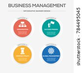 business management infographic ...   Shutterstock .eps vector #784495045
