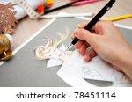 fashion design | Shutterstock . vector #78451114