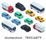 isometric vehicles and cars for ... | Shutterstock . vector #784516879