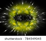 explosion background green... | Shutterstock . vector #784549045