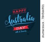 australia day   26 january  ... | Shutterstock .eps vector #784566901