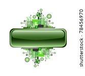 grunge   hi tech banner or... | Shutterstock . vector #78456970