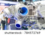 concept of modern vehicle motor ... | Shutterstock . vector #784572769