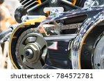 concept of modern vehicle motor ... | Shutterstock . vector #784572781
