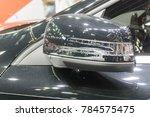 side view mirror in modern car. | Shutterstock . vector #784575475