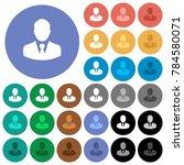 businessman avatar multi... | Shutterstock .eps vector #784580071